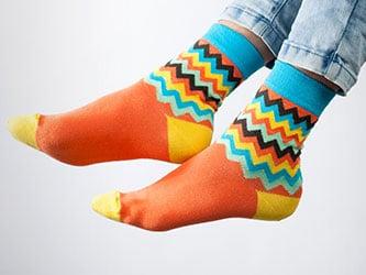 hit Vianoc farebné ponožky