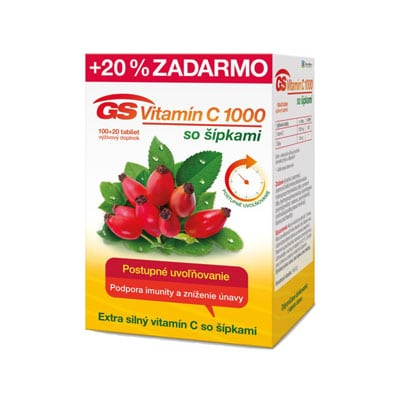 GS Vitamín C 1000 so šipkami