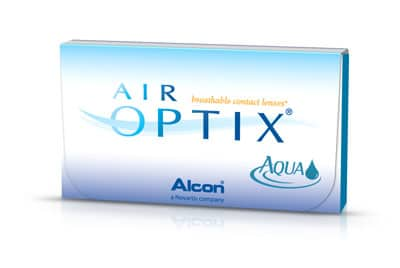 kontaktné šošovky Alcon Air Optix Aqua