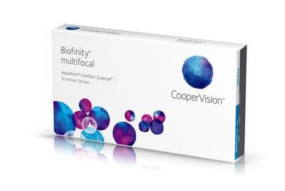 kontaktné šošovky Cooper Vision Biofinity