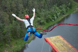 Zážitok Bungee jumping
