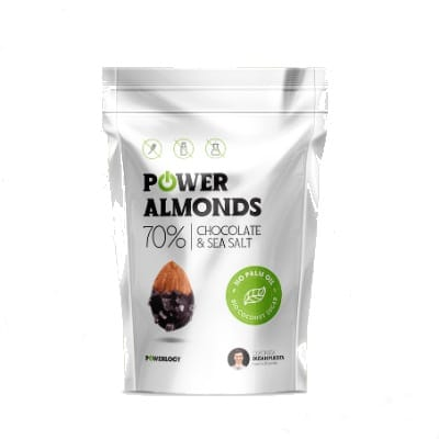 Mandle v čokoláde Real choco almonds 175 g – Powerlogy
