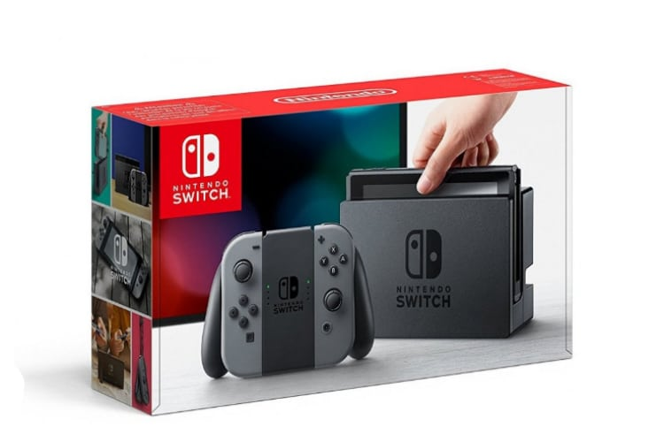 Konzola Nintendo Switch + Joy-Con