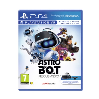 Hra na PS4 Astro Bot Rescue Mission – PS4 VR