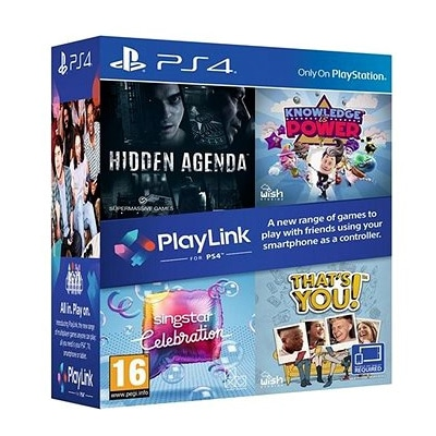 Hra na PS4 Hidden Agenda, Knowledge is Power, SingStar, Thats You - PS4