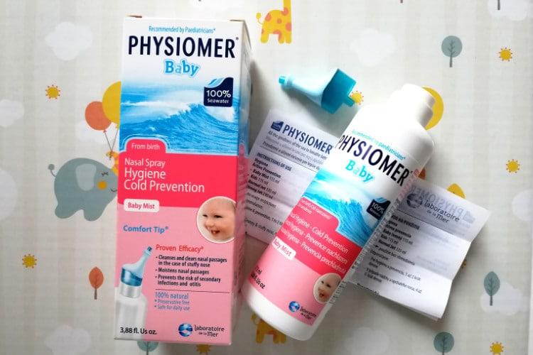 Nosový roztok Physiomer baby recenzia