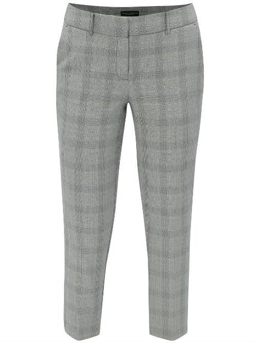 Sivé kostýmové nohavice
