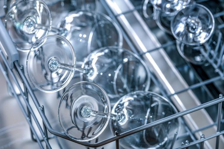 sklo v umývačke