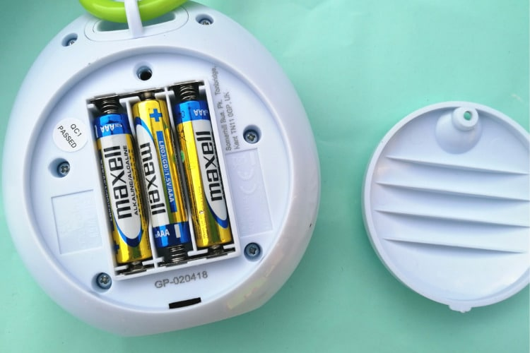 MyBaby prenosný uspávač baterky