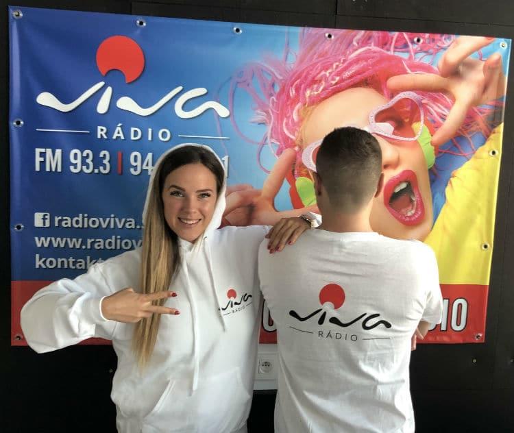Kristína a Binďo v rádiu Viva
