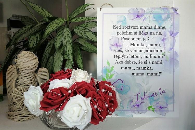 Tabuľka ku Dňu matiek INSPIO