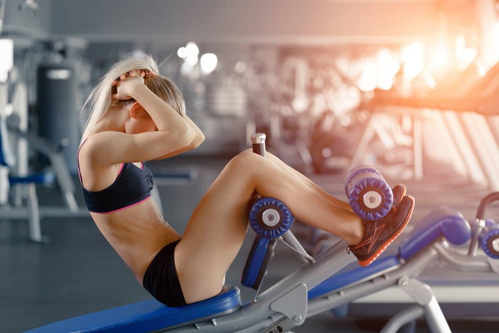 Stroje na cvičenie brucha