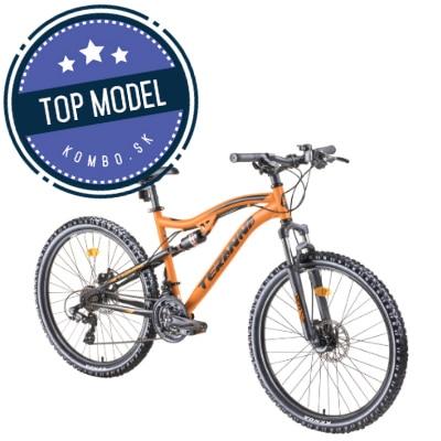 """Celoodpružený bicykel DHS Teranna 2645 26"""" - model 2019"""