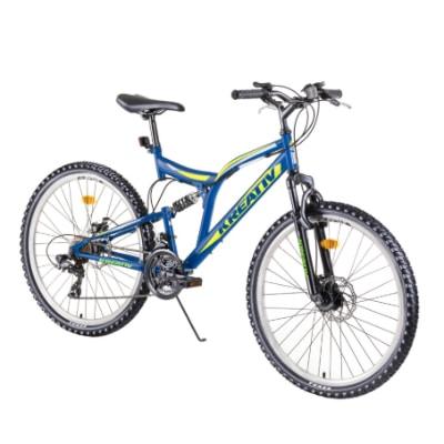 """Celoodpružený bicykel Kreativ 2643 26"""" - model 2019"""