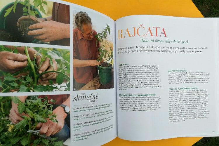 Kniha BIO zahradničení obsah