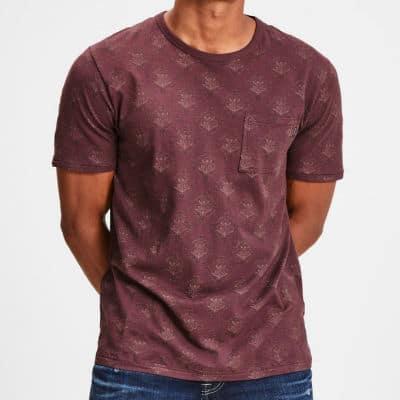 Vínové tričko