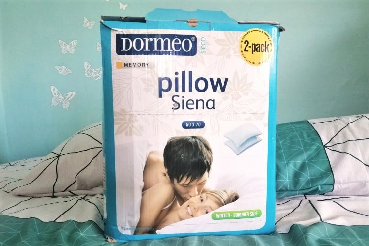Doremo vankúše Pillow Siena recenzia