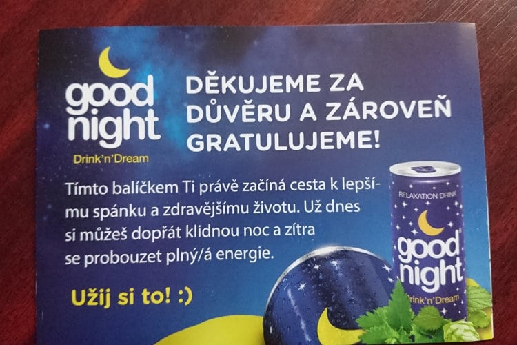 Good Night Drink recenzia