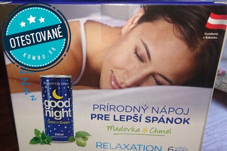 Good Night nápoj recenzia