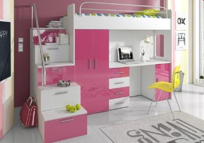 Poschodová posteľ Ruby