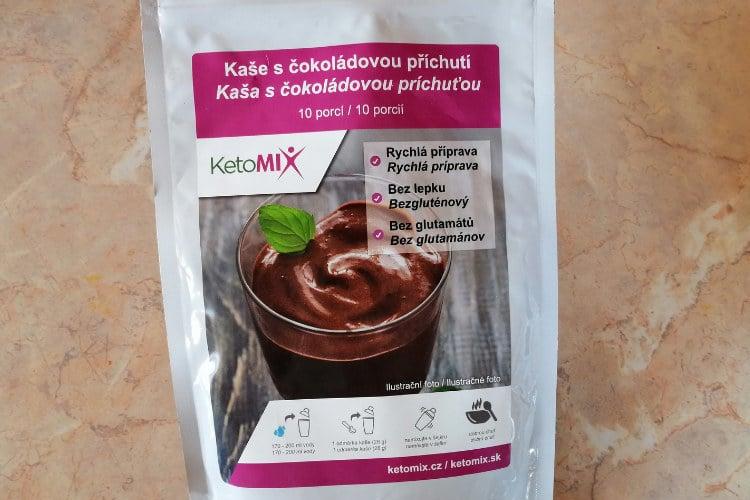 Ketomix kaša s čokoládovou príchuťou