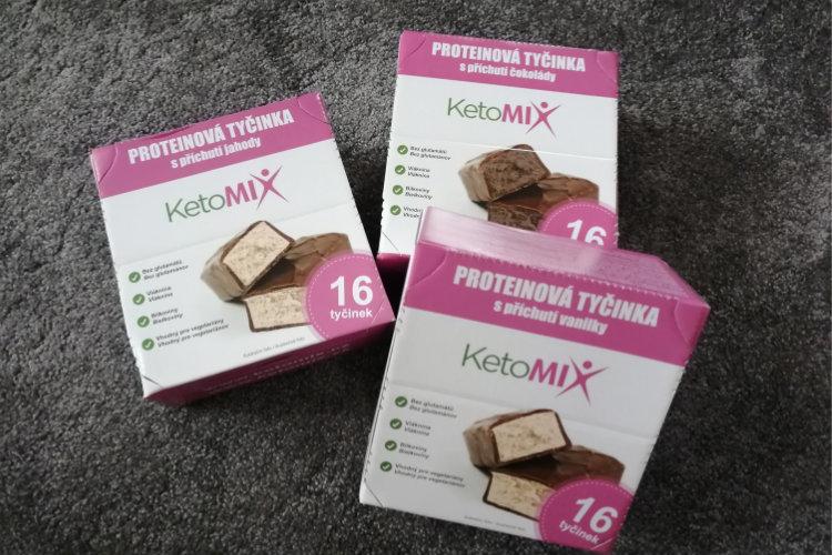 Ketomix proteínové tyčinky skúsenosti