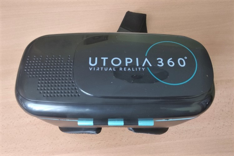 Okuliare na virtuálnu realitu na smartfón Utopia recenzia