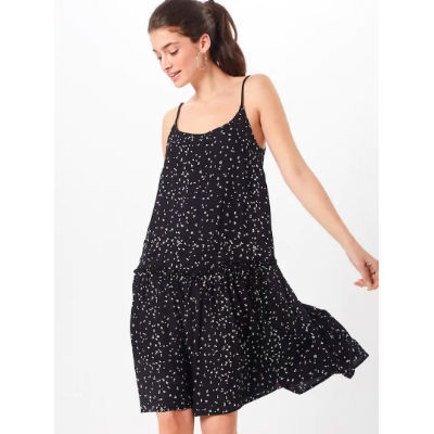 čiernobiele šaty