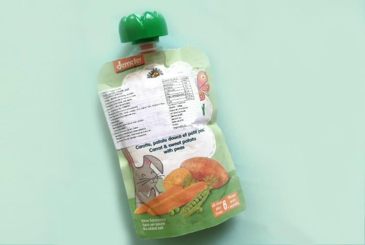 Detská výživa Holle Veggie Bunny