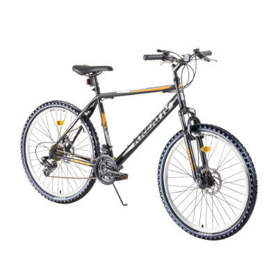 "Horský bicykel Kreativ 2605 26"" - model 2019 - Black Silver"
