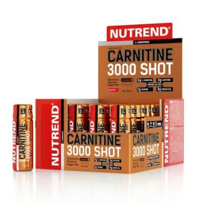 Karnitin Nutrend Carnitine 3000 SHOT