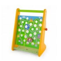 Montessori hra s autíčkom