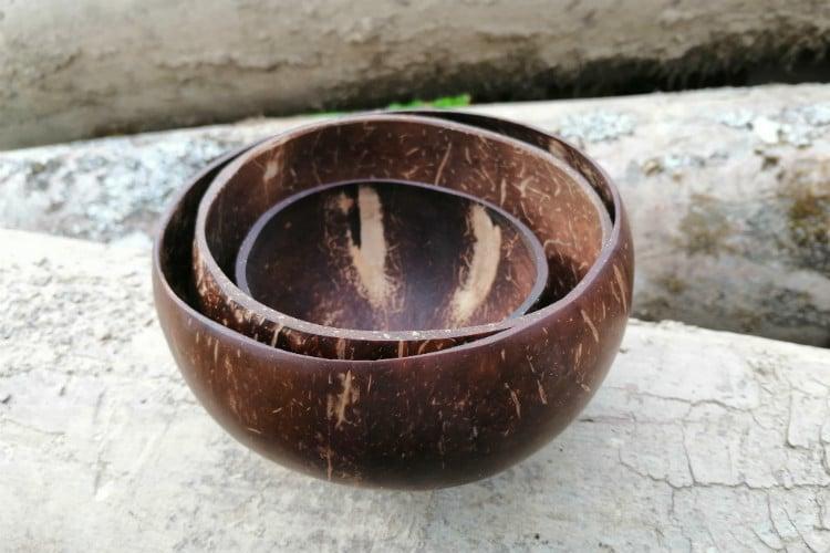 Skúsenosti kokosové misky
