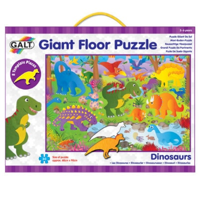 Obrie puzzle dinosaury