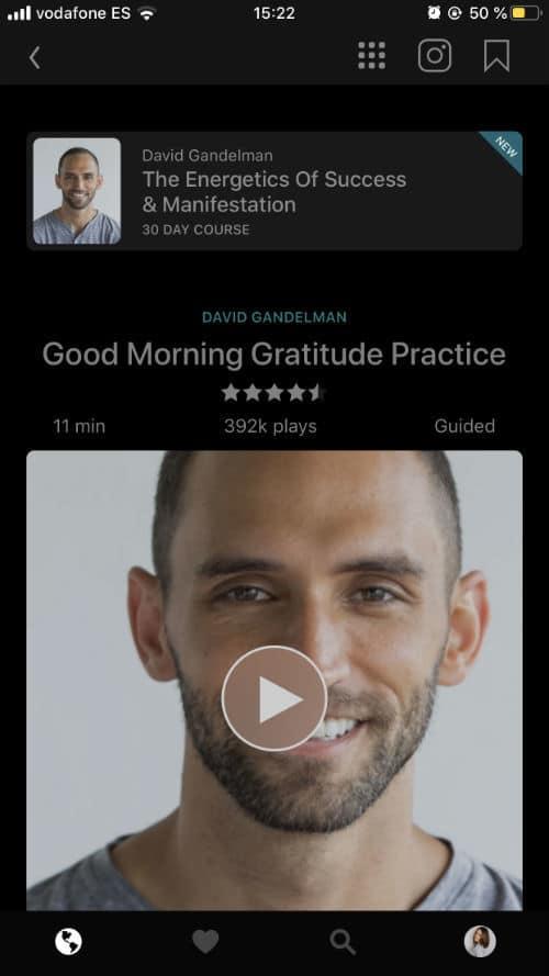 Aplikácia Insight timer