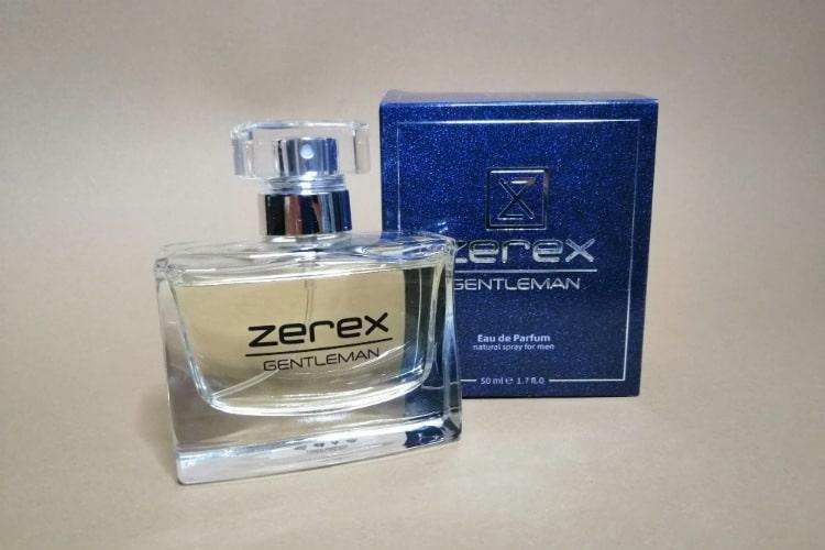 Parfum pre mužov Zerex Gentleman skúsenosti a recenzia
