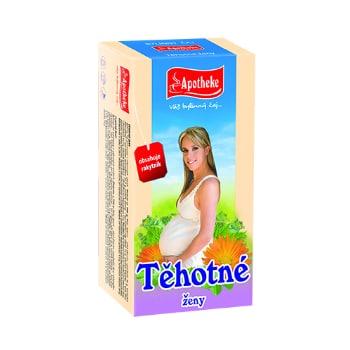 čaj pre tehotné