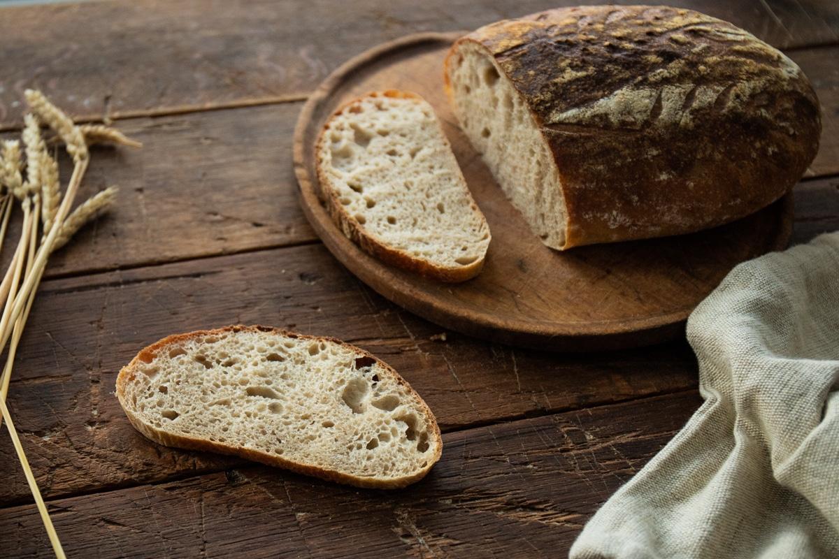 Zdravý špaldový chlieb