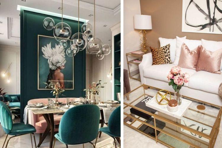 Glamour obývačka