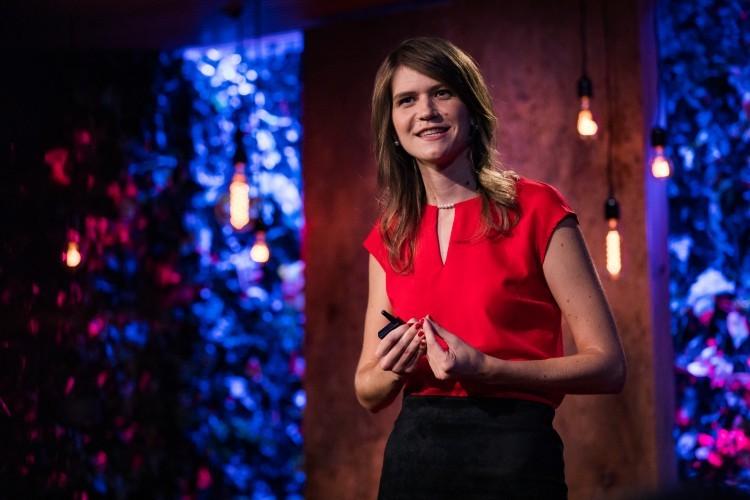 Lýdia Machová na TED v New Yorku