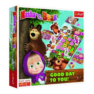 Detská hra Máša a medveď