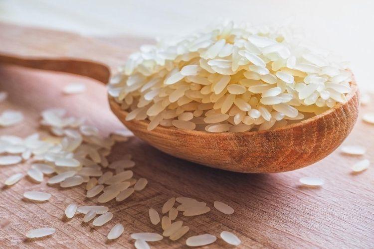 Parboiled ryža