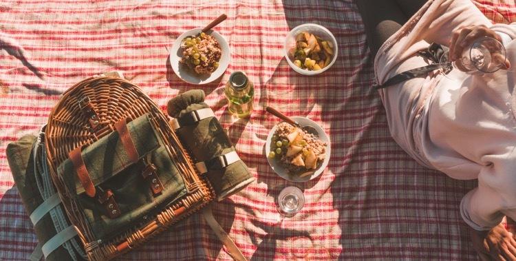 piknik servírovanie