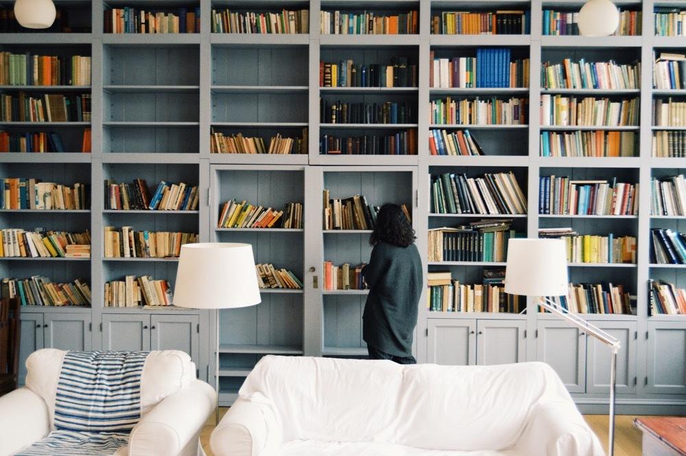 ako uložiť knihy