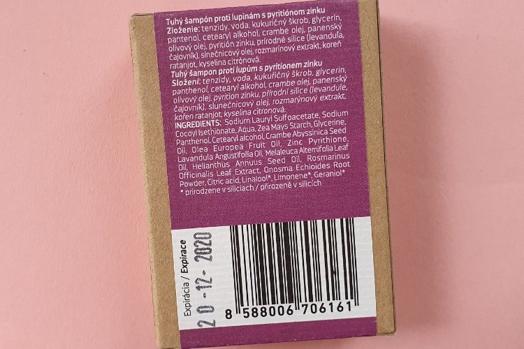 Ponio šampúch levanduľa a čajovník zloženie