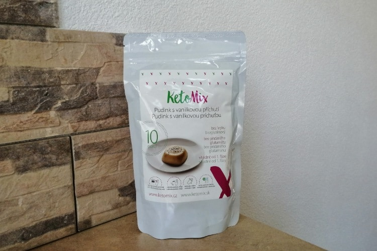 KetoMix puding s vanilkovou príchuťou skúsenosti