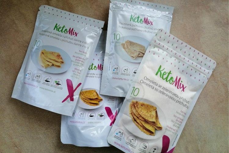 KetoMix omelety skúsenosti