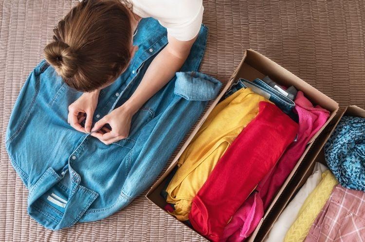 darovanie oblečenia