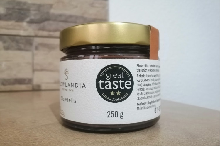 Slowtella – Lieskovcovo-kakaový krém 250g skúsenosti