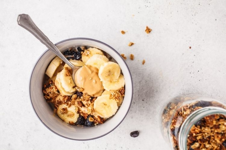 ovsená raňajková kaša